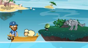 Cross the River | Jeu en ligne gratuit | Mahee.fr