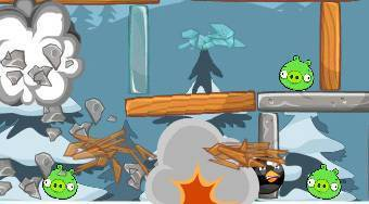 Shelling Bad Piggies | Free online game | Mahee.com