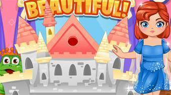 Build Princess Castle - jeu en ligne | Mahee.fr