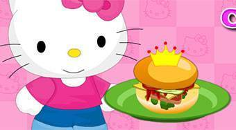 Hello Kitty Cooking Princess Burger - El juego | Mahee.es