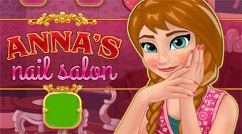 Anna's Nail Salon - Game | Mahee.com