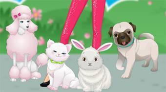 Barbie's Pet Beauty Salon - Game | Mahee.com
