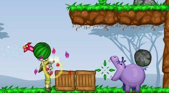 Hippo's Feeder | Free online game | Mahee.com