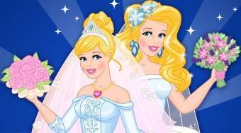 Now And Then Cinderella Wedding Day | Free online game | Mahee.com
