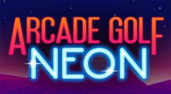Arcade Golf Neon | Free online game | Mahee.com