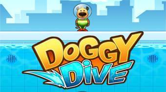 Doggy Dive | Free online game | Mahee.com