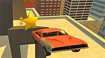 Rooftop Car Stunts - Game | Mahee.com