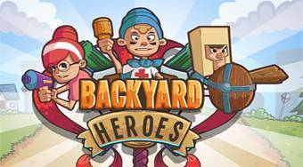 Backyard Heroes | Free online game | Mahee.com