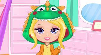 Barbie Design My Chibi Onesie | Free online game | Mahee.com