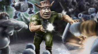 Ivan vs Mutants | Free online game | Mahee.com