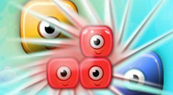 Crazy Eye Blocks | Free online game | Mahee.com