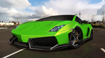 Supercar Parking Mania - online game | Mahee.com