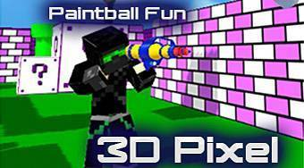 Paintball Fun 3D Pixel | Mahee.fr