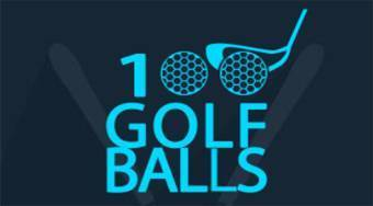 100 Golf Balls - Game | Mahee.com