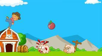 Little Farm Protect | Free online game | Mahee.com