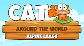 Gato trotamundos 5 | (Cat Around the World: Alpine Lakes) | Mahee.es