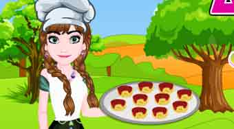 Anna Special Cheesy Pizza Pinwheels | Free online game | Mahee.com