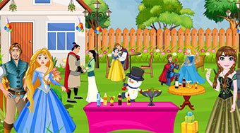 Princess Couples Party Decoration - Game | Mahee.com