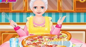 Pizza Cooking With Grandma | Mahee.com