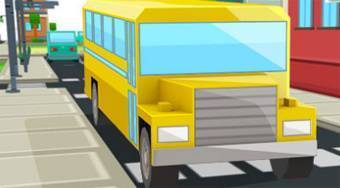 School Bus Parking Frenzy 2 - Game | Mahee.com