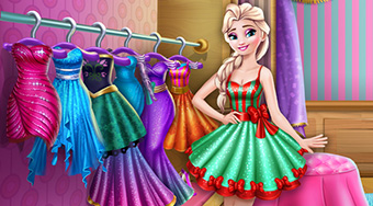 Elsa Wardrobe Cleaning - online game | Mahee.com