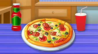 Cooking Tasty Pizza - Game | Mahee.com
