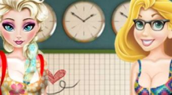 Elsa and Rapunzel Highschool Outfit | Mahee.fr