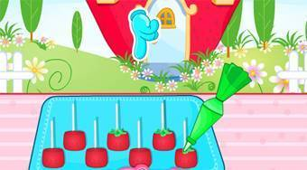 Strawberry Shaped Pops - online game | Mahee.com