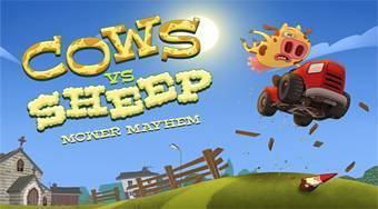 Cows vs Sheep: Mover Mayhem | Free online game | Mahee.com