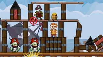 Pirates Kingdom Demolisher - el juego online | Mahee.es