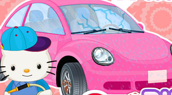 Hello Kitty Car Wash And Repair | Mahee.com