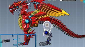 Robot Fire Dragon | Mahee.es
