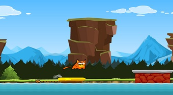 Crazy Cat - online game | Mahee.com