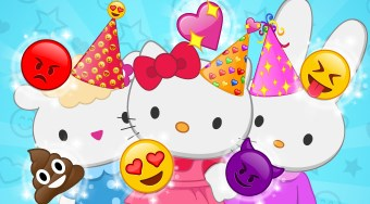Hello Kitty Emojify My Party | El juego online gratis | Mahee.es