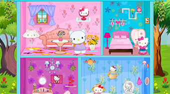 Hello Kitty Spring Doll House - online game | Mahee.com