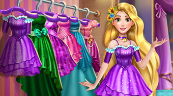 Rapunzel Wardrobe Clean Up - Le jeu | Mahee.fr