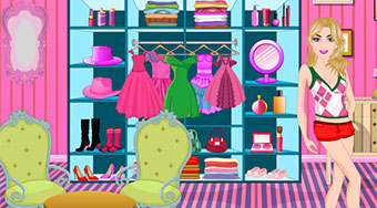 Barbie Fashion Wardrobe - Game | Mahee.com