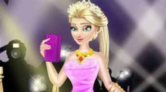 Elsa Red Carpet Dress Up | Jeu en ligne gratuit | Mahee.fr