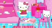 Hello Kitty House Cleaning And Makeover