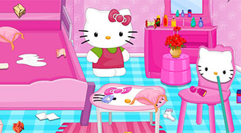 Hello Kitty House Cleaning And Makeover | Mahee.com