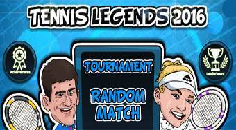 Tennis Legends 2016 - online game | Mahee.com