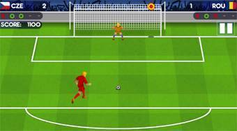 Penalty Shootout: Euro Cup 2016 - online game | Mahee.com