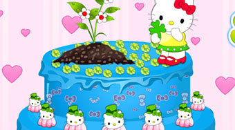 Hello Kitty Spring Cake | Mahee.com
