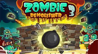 Zombie Demolisher 3 | Mahee.com