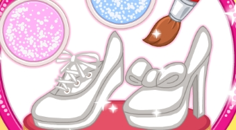 Trend Alert: My Glittery Shoes | Free online game | Mahee.com