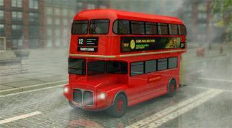 Double City Bus 3D Parking | Free online game | Mahee.com