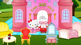 Hello Kitty Princess Castle | Jeu en ligne gratuit | Mahee.fr