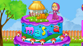 Masha And The Bear Cake | Mahee.com