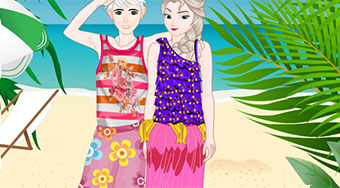 Elsa And Jack Dating In Hawaii - Game | Mahee.com