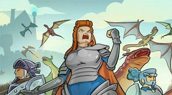 Dragon Fortress - online game | Mahee.com